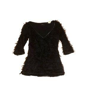 Miss Sixty wool fuzzy sweater S